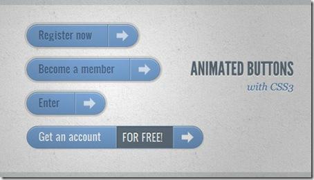Botón estilo barra con animación CSS3