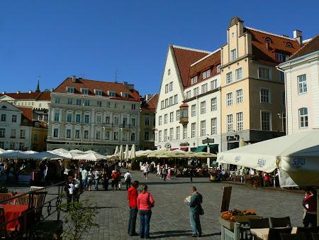 Obiective turistice Talinn: Piata Centrala