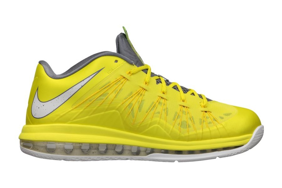 wholesale dealer ebcd2 816cd Release Reminder Nike Air Max LeBron X Low Sonic Yellow ...