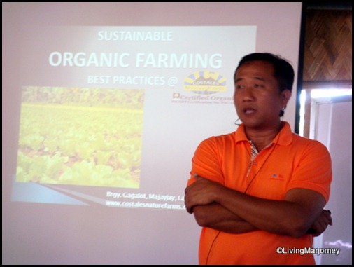 Mr. Costales of the Costales Farm in Majayjay, Laguna