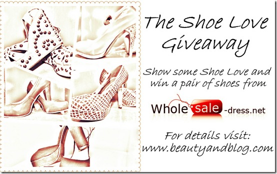 Win a pair of shoes from Wholesale-Dress.n