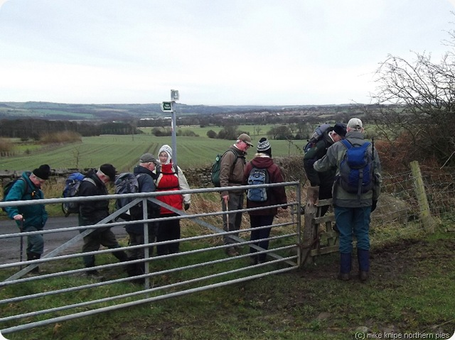 neville stewards at a stile