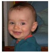 sourire de bébé
