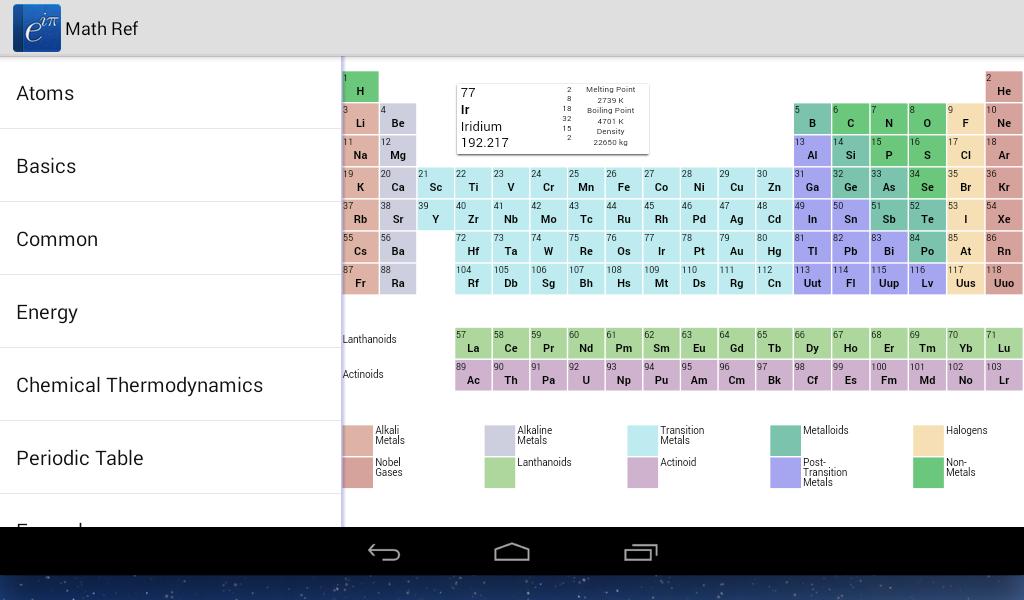 Math Ref screenshot #9