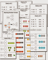 Number Bonds Activity Sheets (with FREE version)