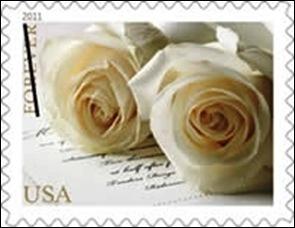 2017 Wedding Roses Stamp