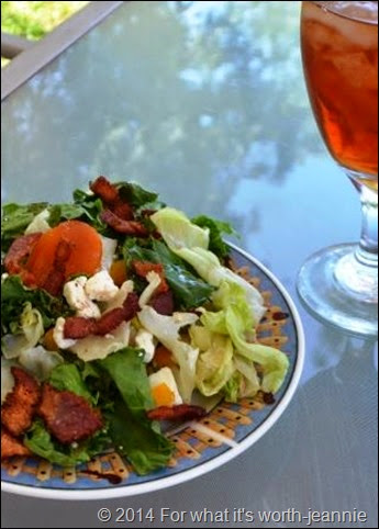 apricot bacon feta salad