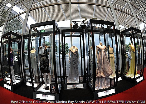 Maxime Simoens  Anne Valérie Hash Christophe Josse Haute Couture Singapore Exhibition at Marina Bay Sands