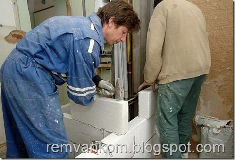 комплексной ремонт ванной комнаты 8