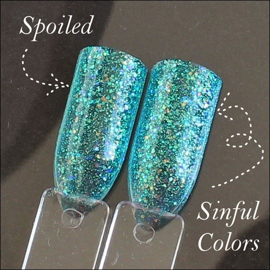 Dupe Spoiled Use Protection Sinful Colors Nail Junkie 2