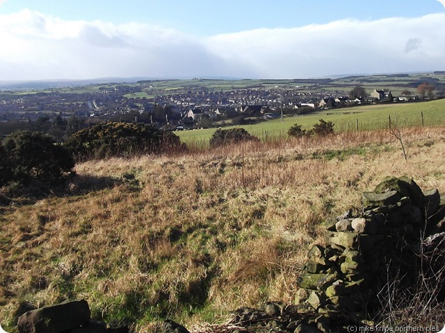 you can see our house from here (view of crook)