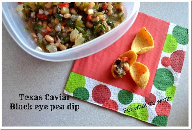 Black eye pea dip recipe