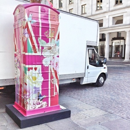 BT Artbox - Accessorize - Ring Ring for Britain