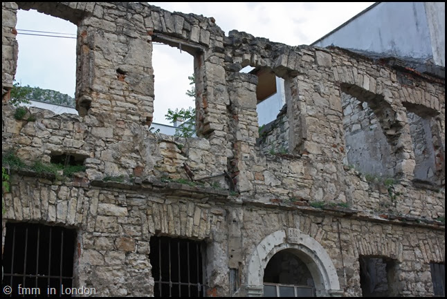 Ruined building, Mostar