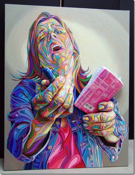 French-Relief-Street-Artist-Paintings-pictura 3D