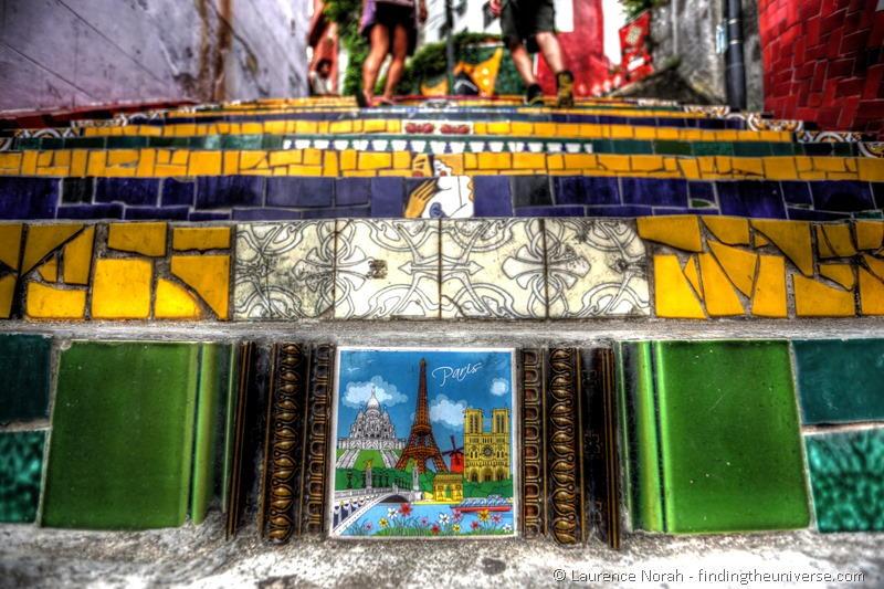 Selarón staircase Rio Brazil