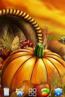 Thanksgiving 2012 Go Launcher - screenshot thumbnail