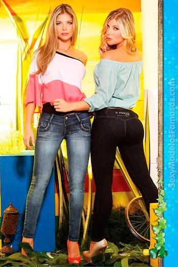 Angelica Jaramillo y Sofia Jaramillo Axxys Jeans Foto 35