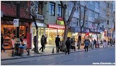 На улице вечернего Стамбула. www.timeteka.ru