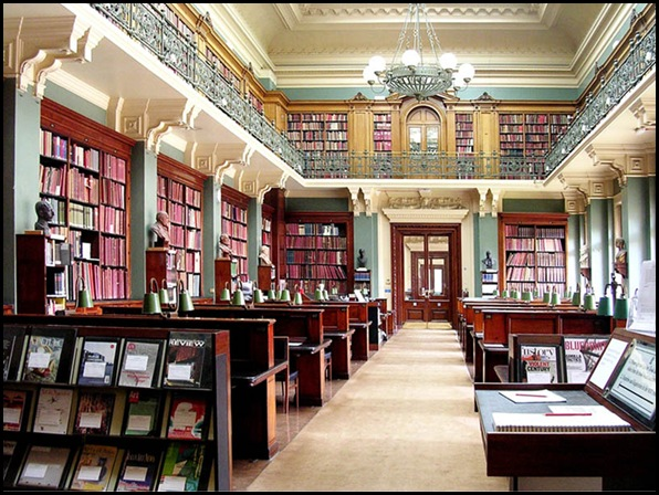 Victoria and Albert Museum, Public Library, Londres, Angleterre 02