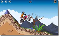 أستخدم دراجتك الرياضية للقفز فوق الحواجز فى لعبة الموتوسكيلات Bike Xtreme للأندرويد