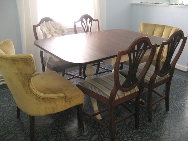 Trash To Treasure Dining Room Table