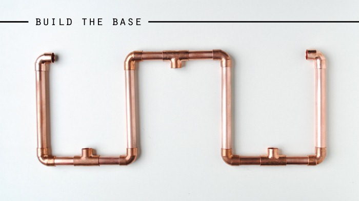 How to Build the Base Copper Candelabra