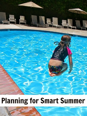 From Planet Smarty Pants: Planning Smart Summer for children age 5-10