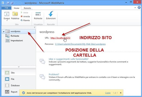 wordpress-locale-installazione