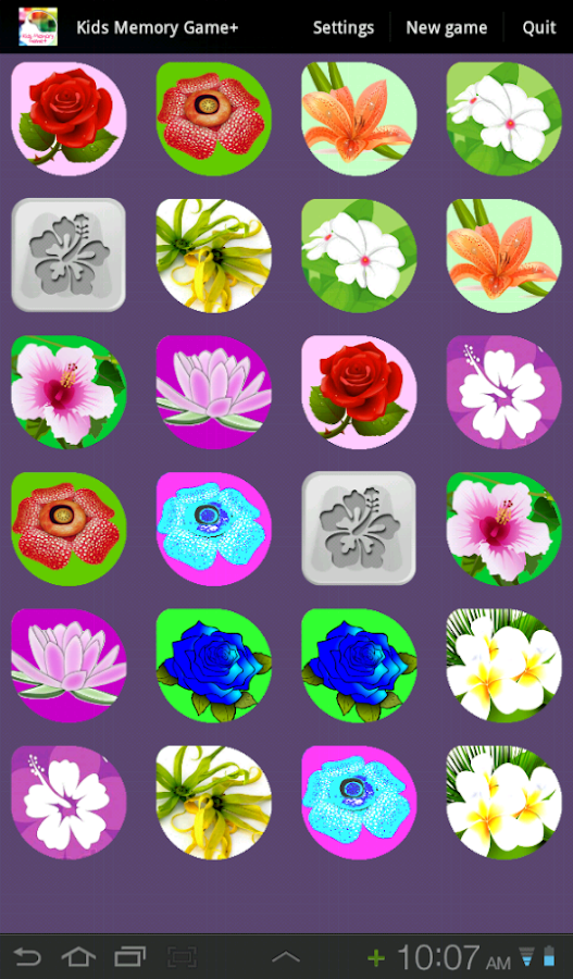 Kids Memory Game+ - screenshot