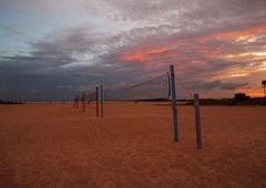 Sunset-4-at-Treasure-Island,-Tampa,-FL