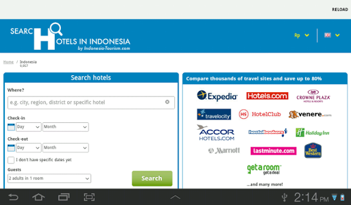 Search Hotel Indonesia