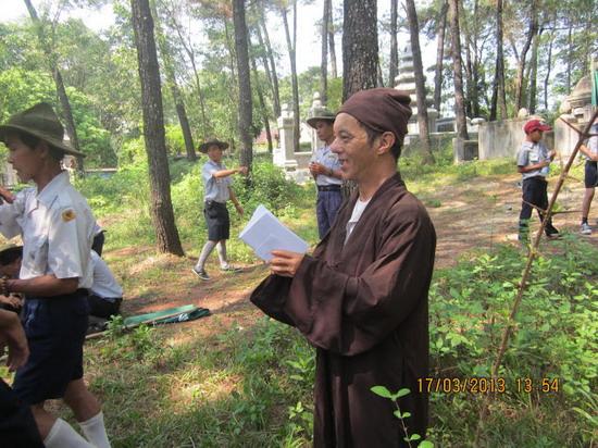 TraiDungThuaThioem2013 13 BHD GĐPT Thừa Thiên tổ chức Trại Dũng năm 2013