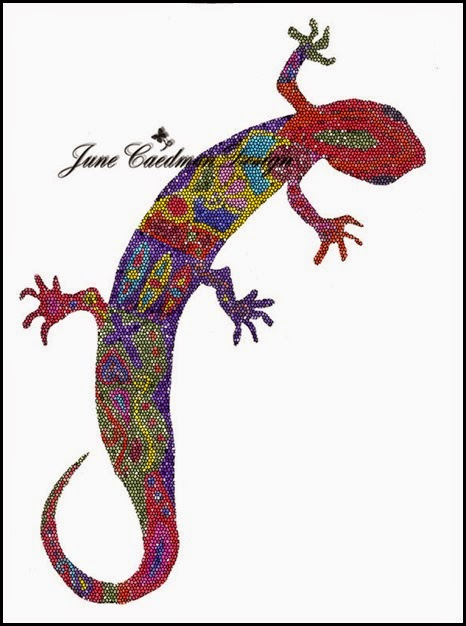 Gecko_Beaded