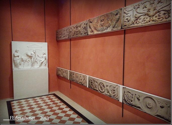 Camerino dei Marmi di Alfonso I d'Este, Ferrara -  Little room of the Marble of Alfonso I d'Este, Ferrara, Italy
