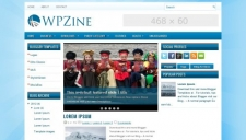 Wpzine blogger template 225x128