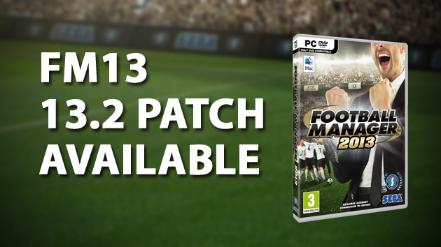 Football Manager 2013 Patch 12