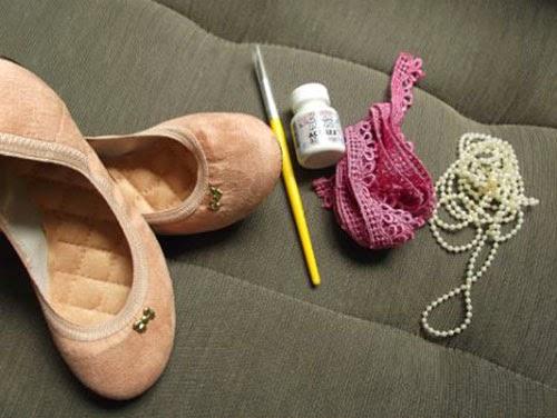 7a0245d927 Como customizar sapatilha delicada