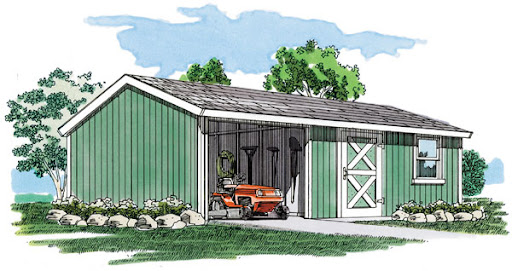 @@ Free Open Pole Shed Plans 50344
