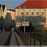 Auf der Brücke nach Braunau