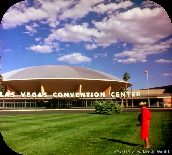 View-Master Las Vegas Nevada A159 Scene 1-6 Convention Center