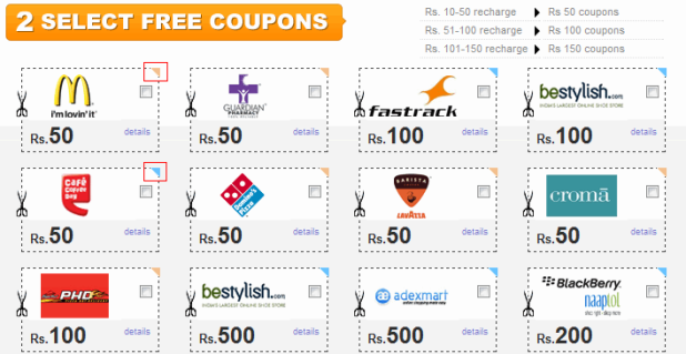 Free Mobile Recharge - Freecharge