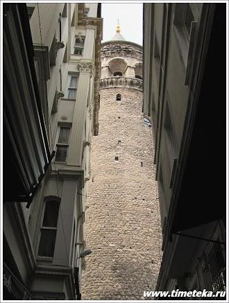 Галатская башня. Стамбул.
