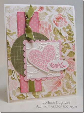LeAnne Pugliese Stitched with Love Valentine