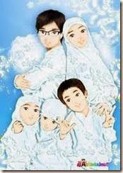 Kumpulan Gambar Kartun Muslimah Lucu Unik Dan Cantik