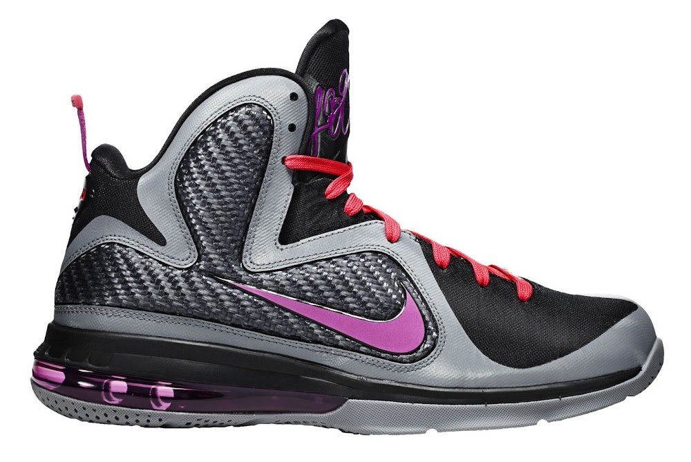 low priced f755d dc21a 469764-002 Cool Grey Vivid Grey-Black-Cherry. Upcoming Nike LeBron 9  8220Miami Nights8221 Catalog Images ...