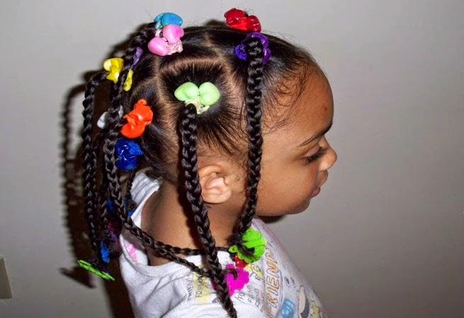 Stupendous Cute Black Kids Hairstyles 2015 Short Hairstyles Gunalazisus