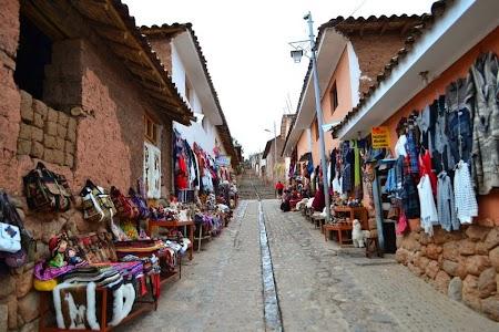 Valea sacra a incasilor: Bazar suveniruri in Chichero