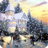 Painted Xmas Live Wallpaper