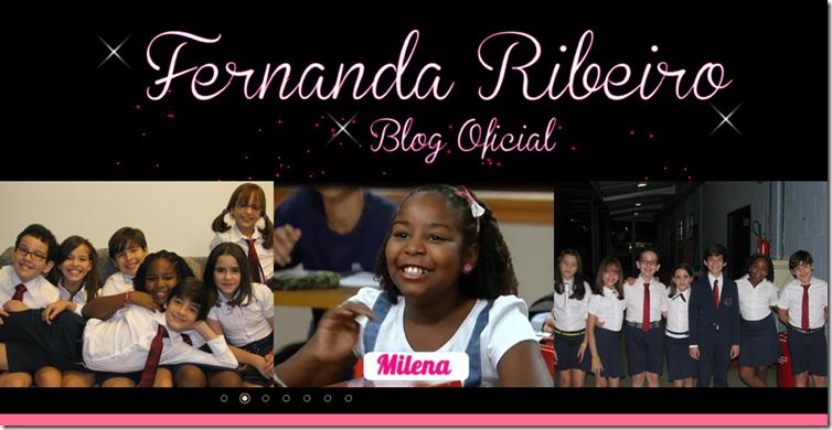 Fernanda Ribeiro- Blog Oficial
